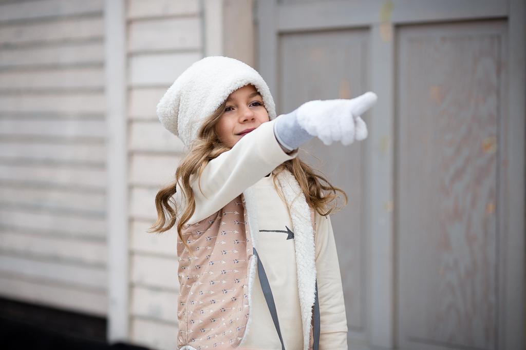 Zimowa dziewczynka