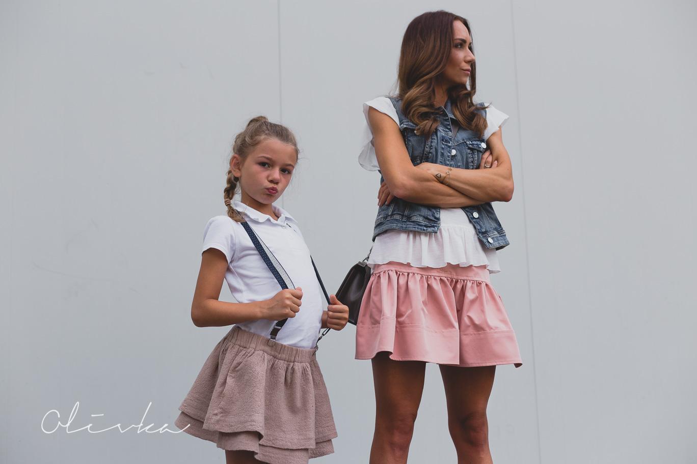 Pastelowe barwy dla mamy i córki