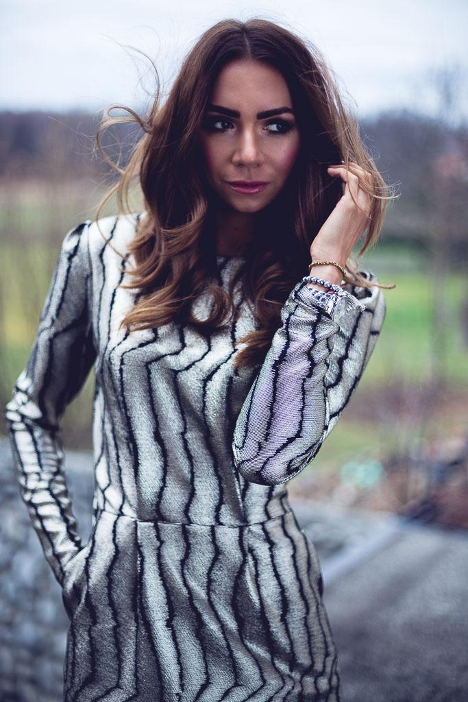 Pomysł na sukienkę Andrzejkowo-Sylwestrową