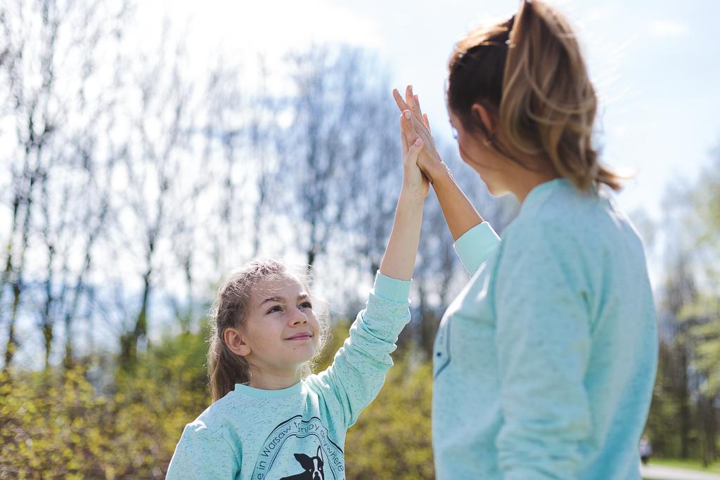 Wspólna pasja czyli trening z dzieckiem :)