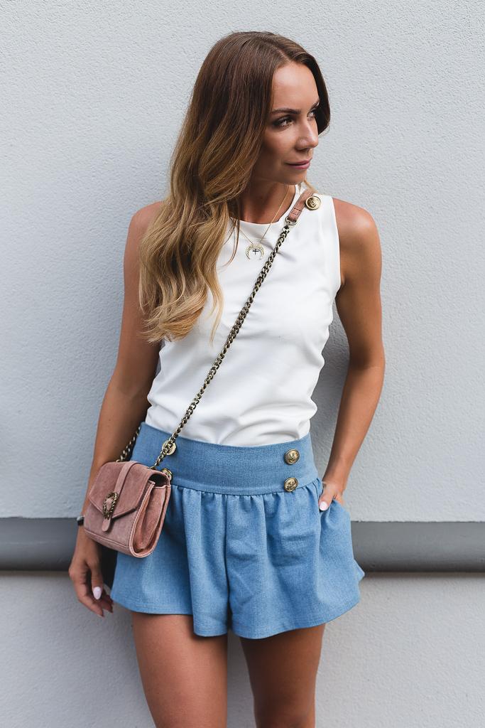 Lovely blue shorts