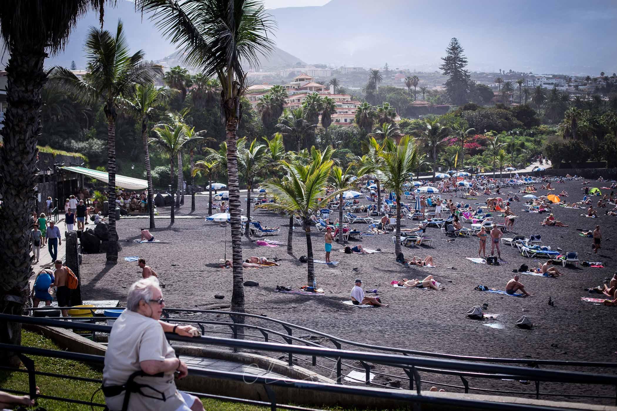 Playa La Arena, Puerto de la cruz, plaża na Teneryfie, plaże na teneryfie, najpiękniejsze plaże na Teneryfie