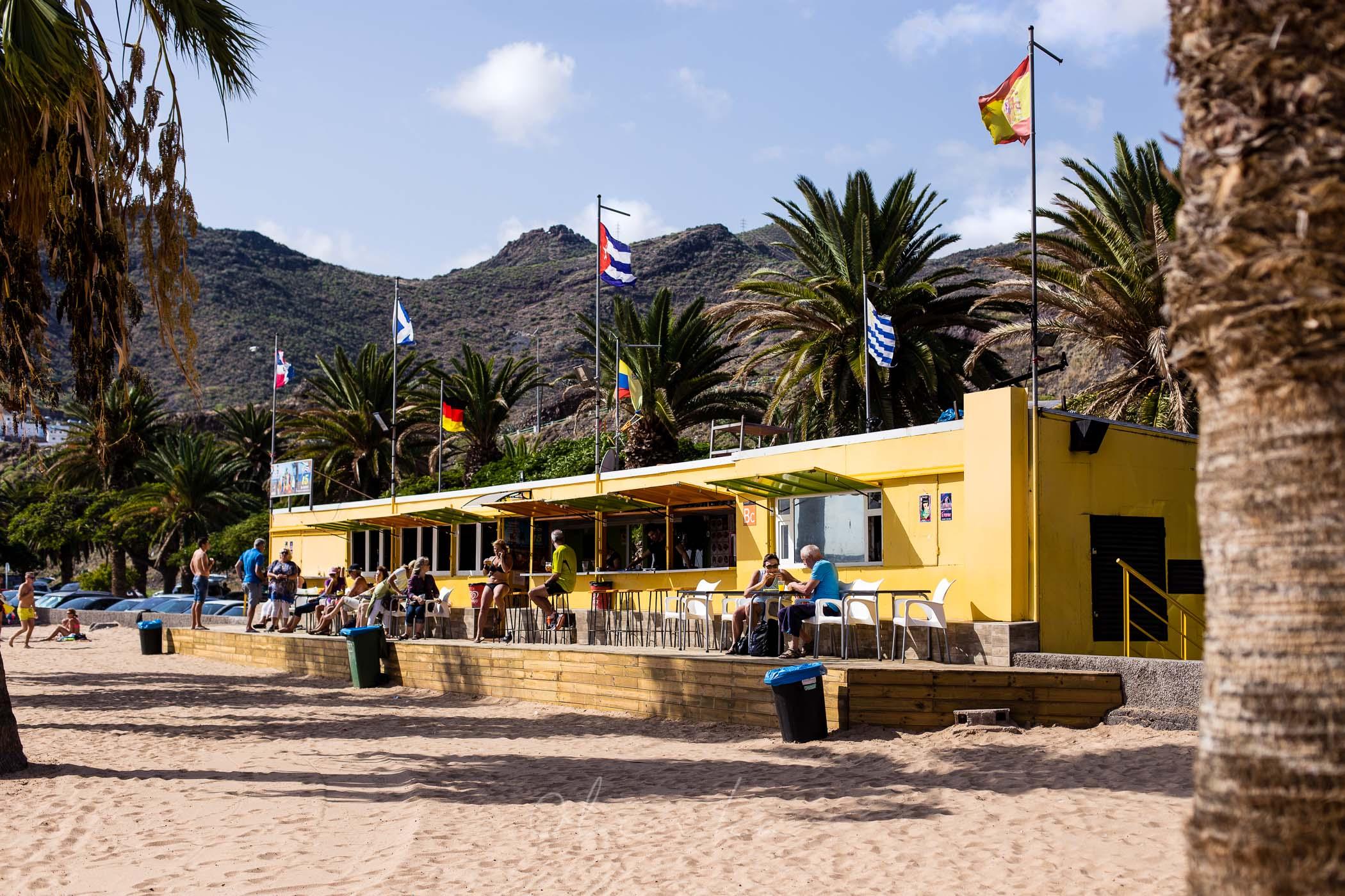 Playa Las Teresitas, żółta plaża na Teneryfie, najpiękniejsze plaże na Tenryfie