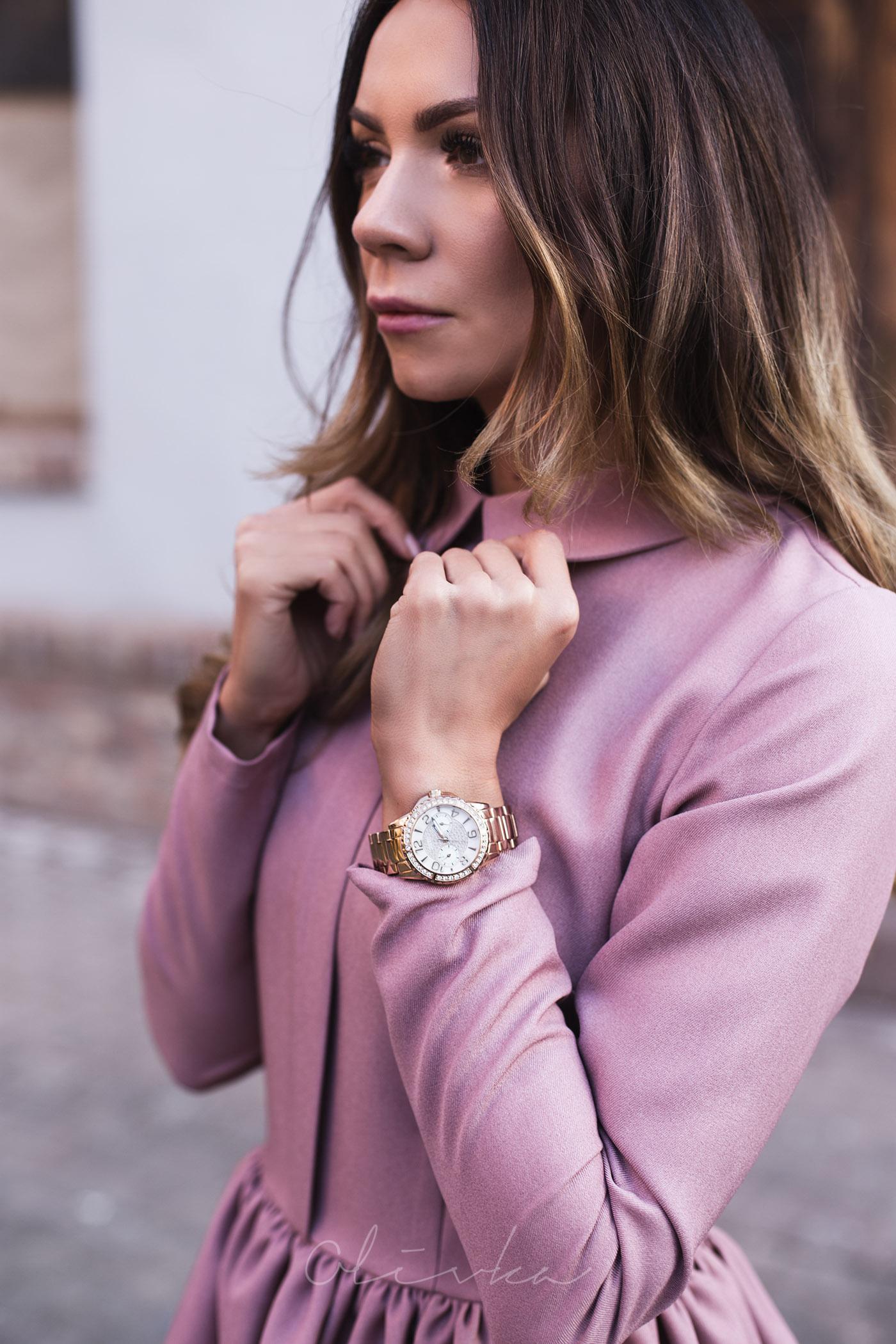 Zegarek guess, sukienka belette