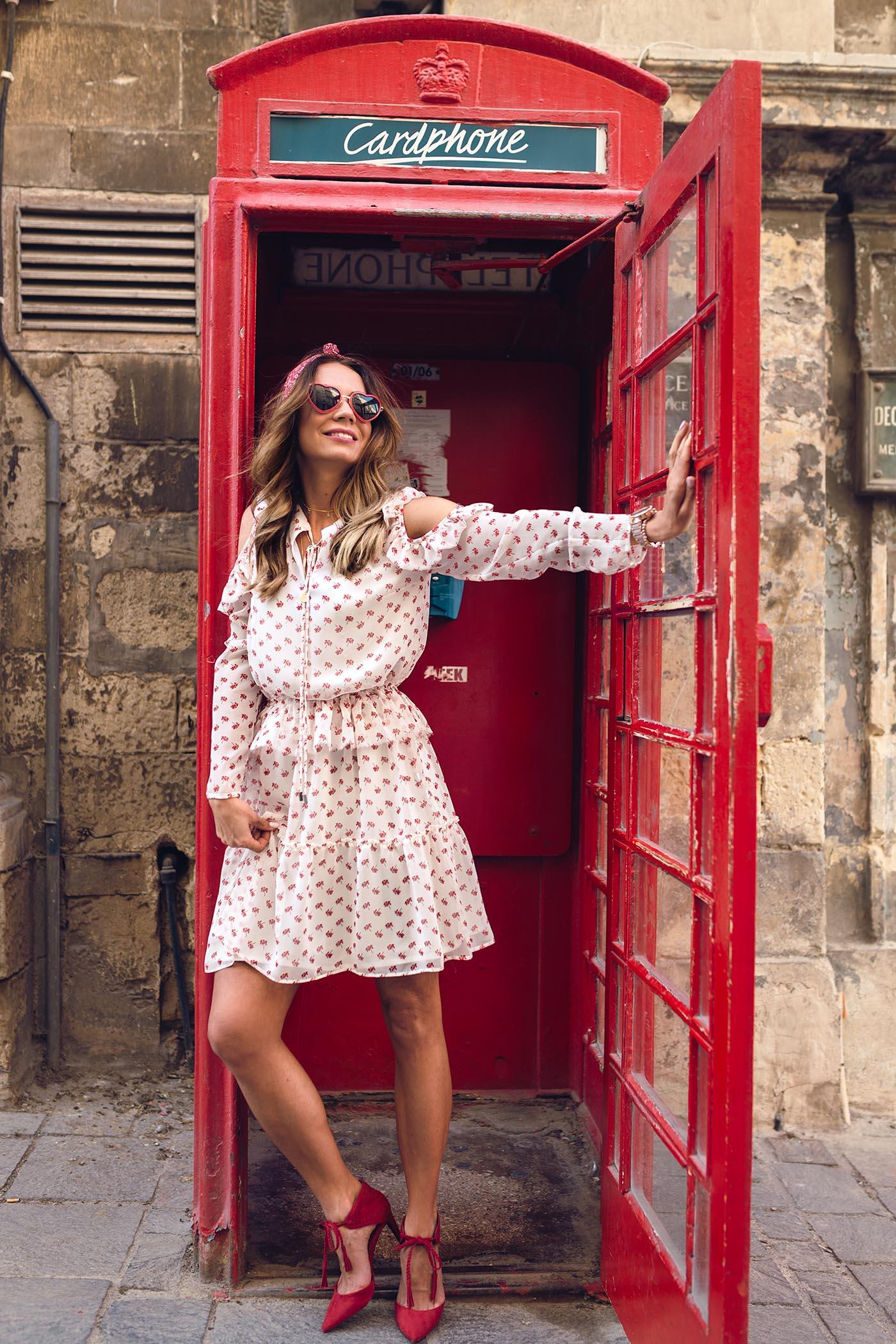 budka telefoniczna Malta, Malta, La Valletta ciekawoski, Valletta ciekawostki, wakacje na Malcie, atrakcyjne miasta na Malcie, najciekawsze miasta na Malcie