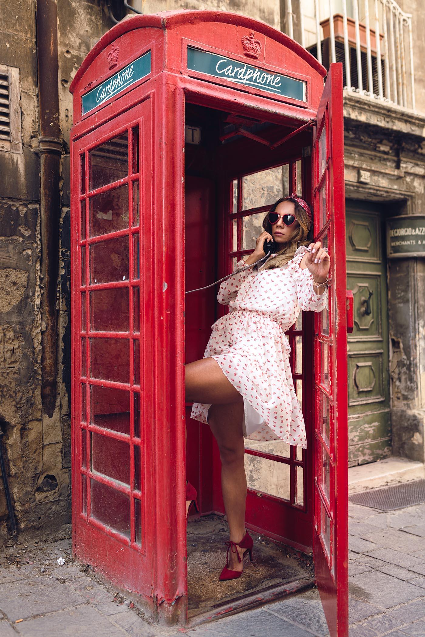 budka telefoniczna Malta, Malta, La Valletta ciekawoski, Valletta ciekawostki,