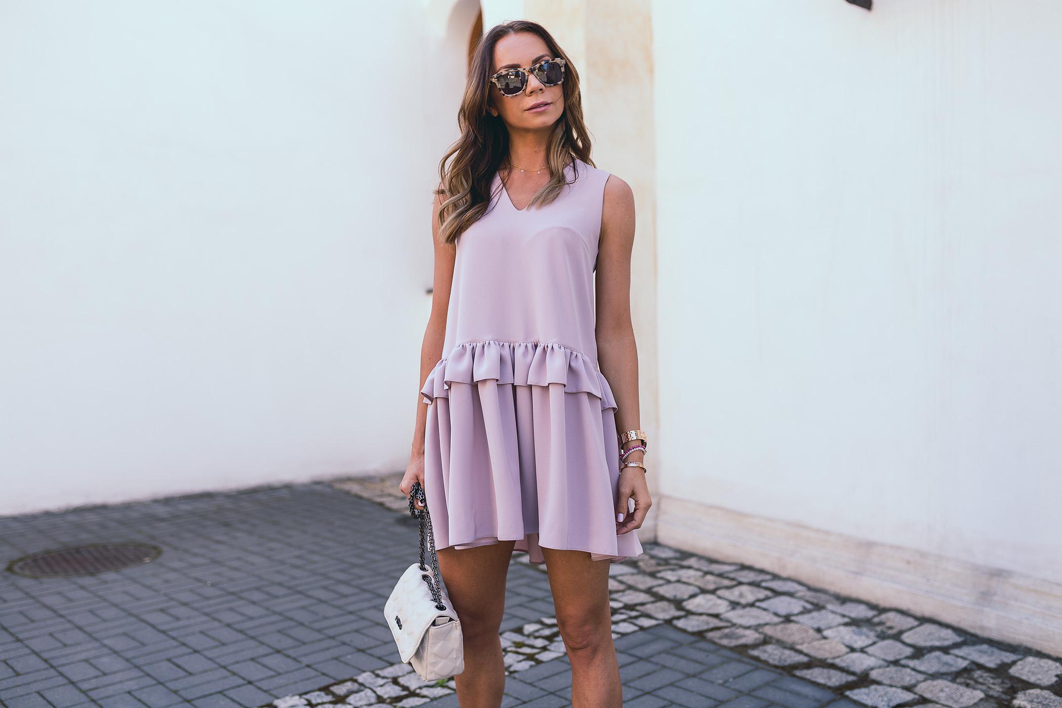 Sukeinka Stone Skirts, sukienka różowa na lato