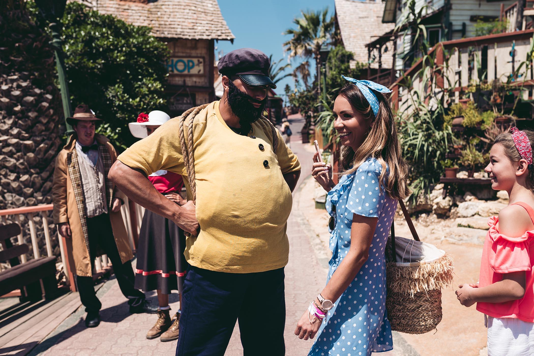 Popeye Village Malta atrakcje, Popeye Village Malta, Malta atrakcje