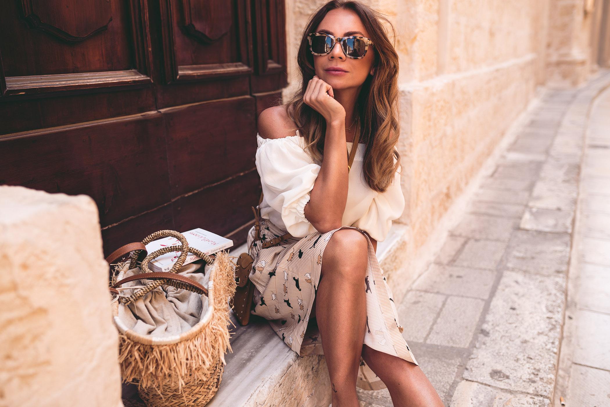 Mdina - miasto ciszy, miasto ciszy Malta, Atrakcje na Malcie, echo fashion, okulary Komono damskie