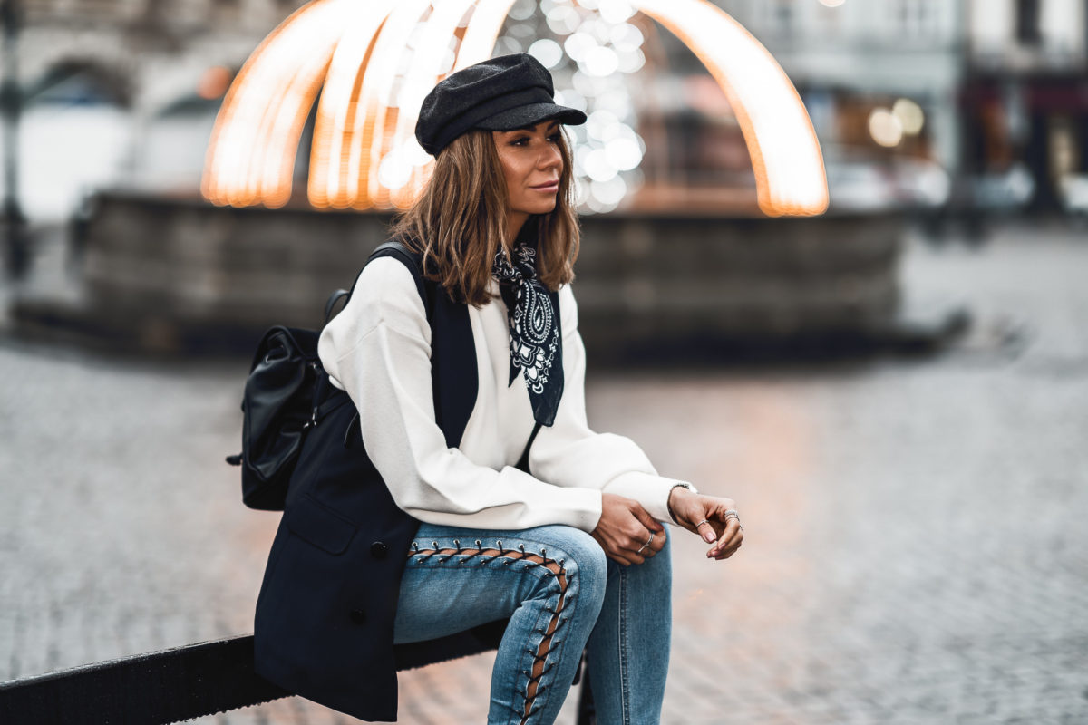 Klasyczna stylizacja na co dzień – Orsay total look
