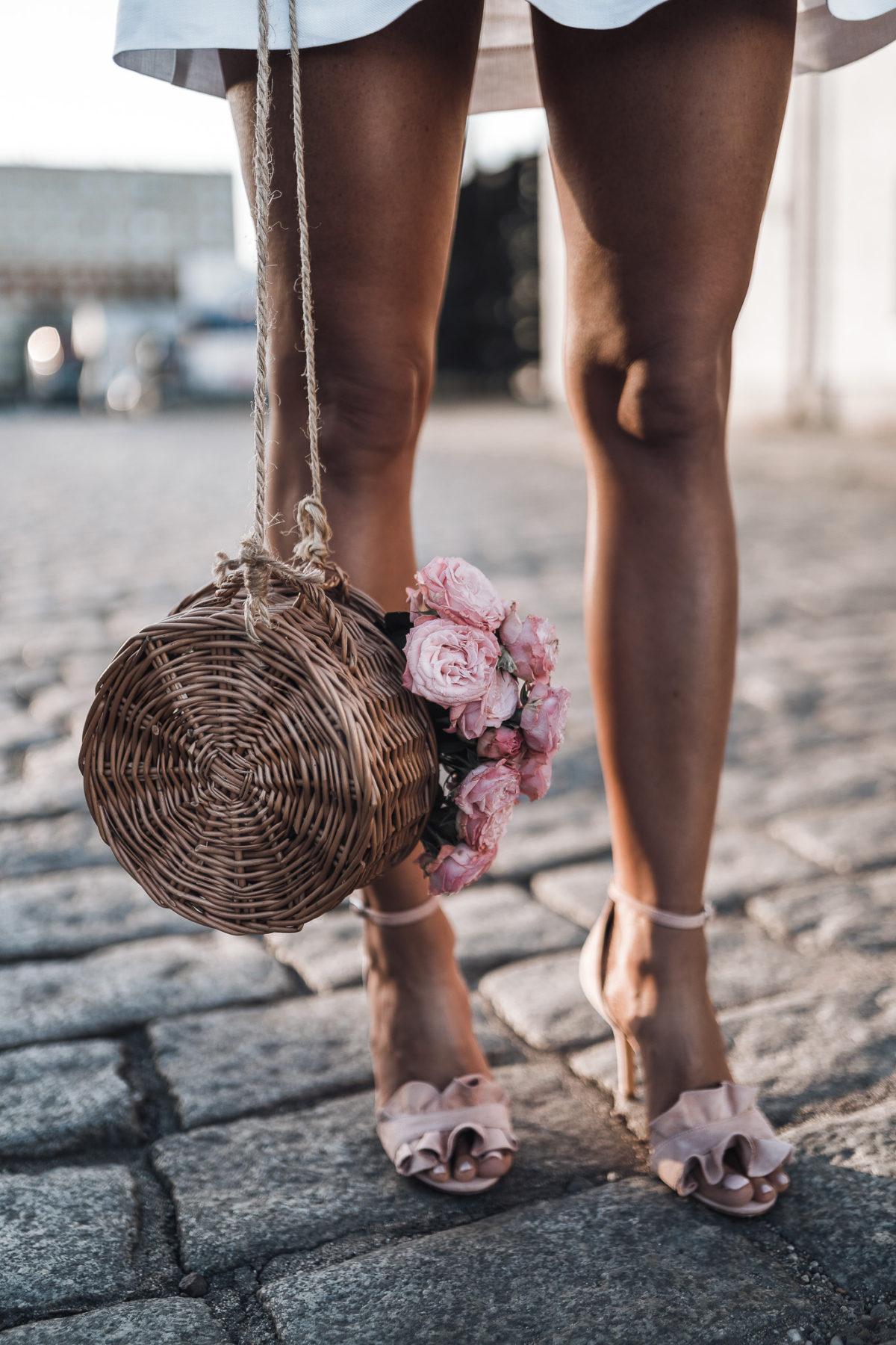 Śliczna, lniana sukienka