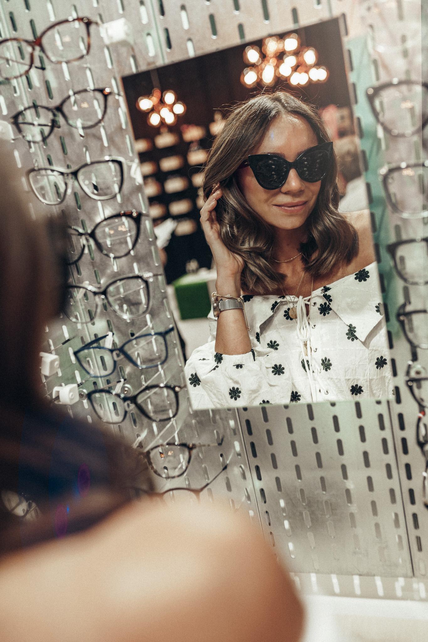 okulary max mara, bryloownia