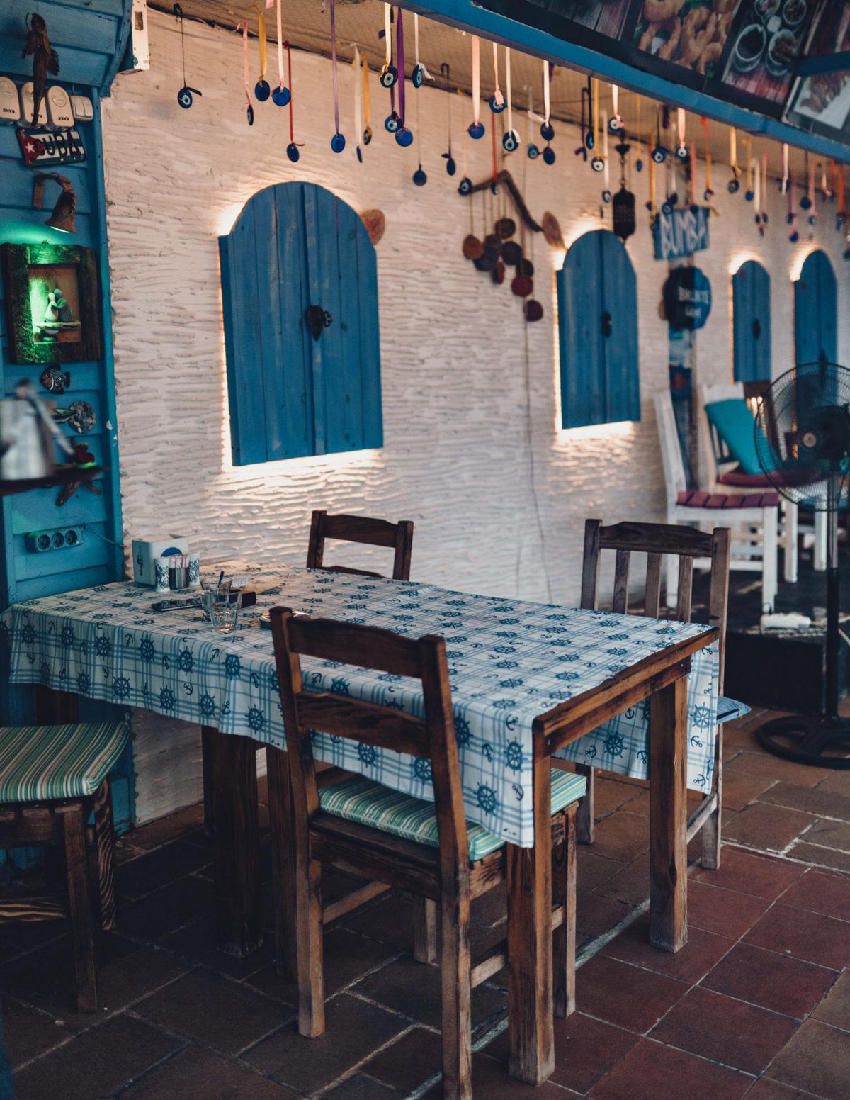 Wczasy w Turcji - Restauracja w Alanyi