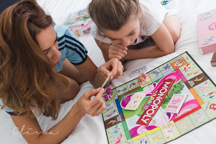 Wspólny czas z dzieckiem- Monopoly junior, My Little Pony