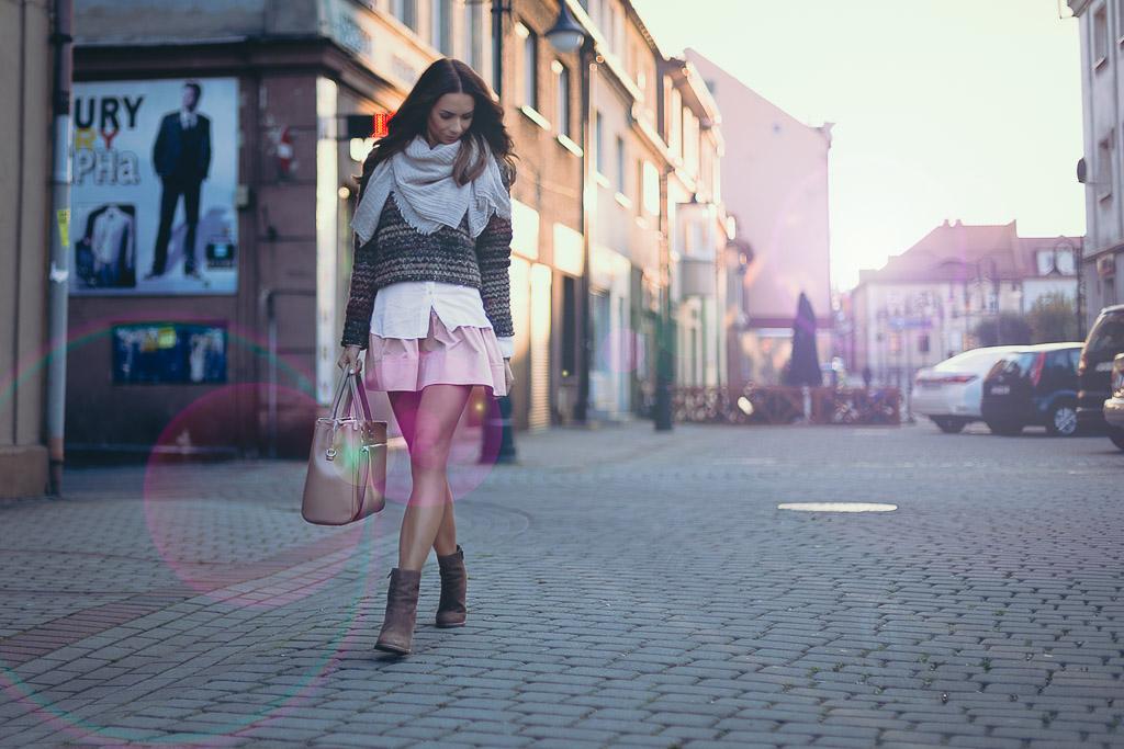 Słoneczny, jesienny outfit
