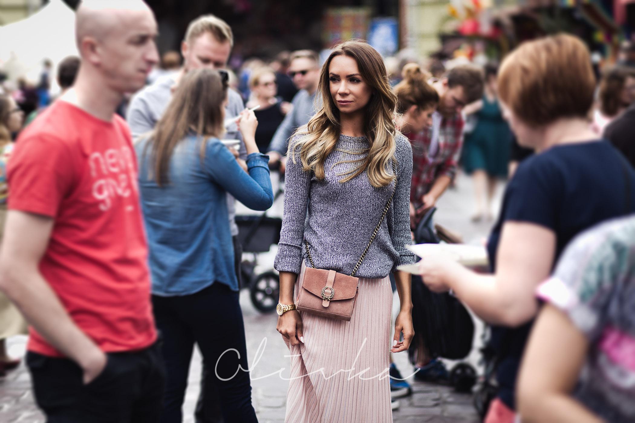 Jak nosić długą spódnicę