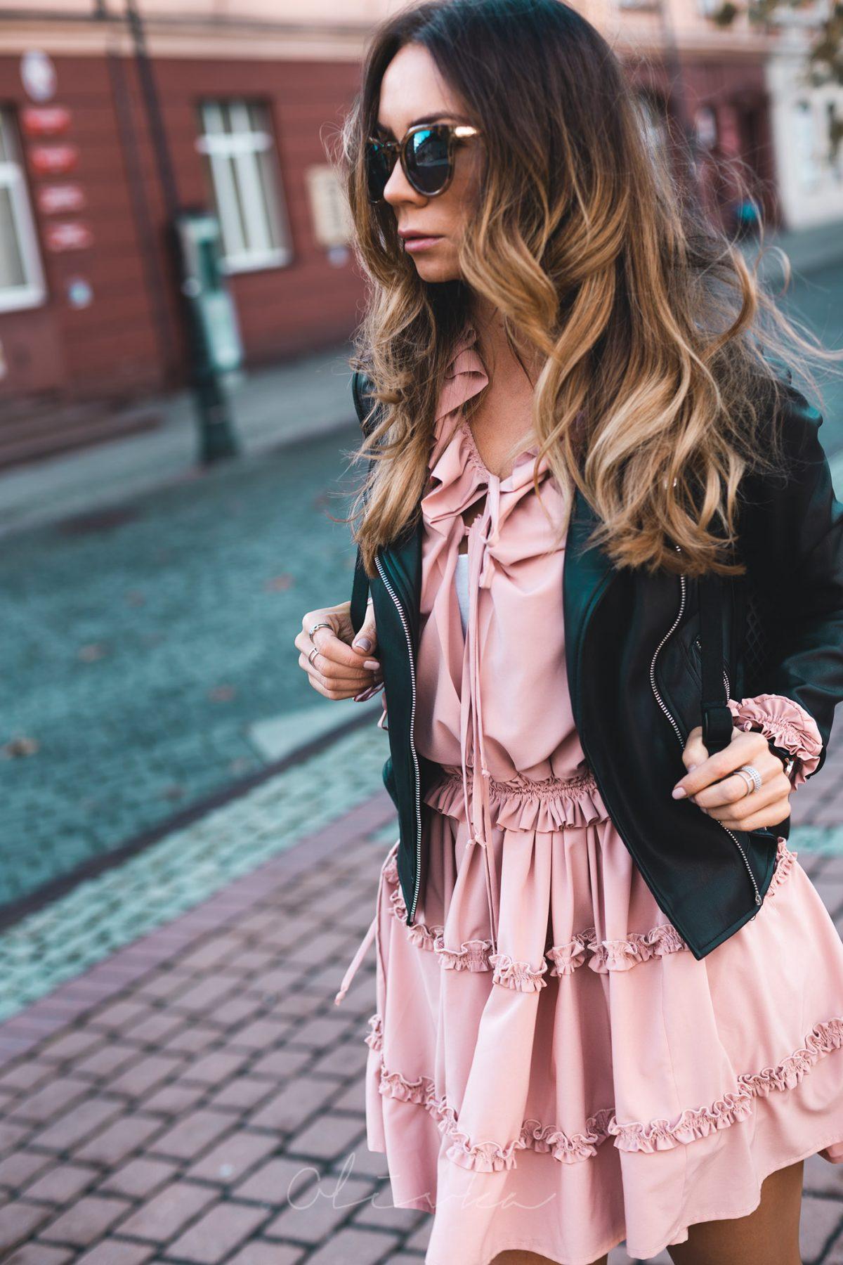 OOTD PINK DRESS