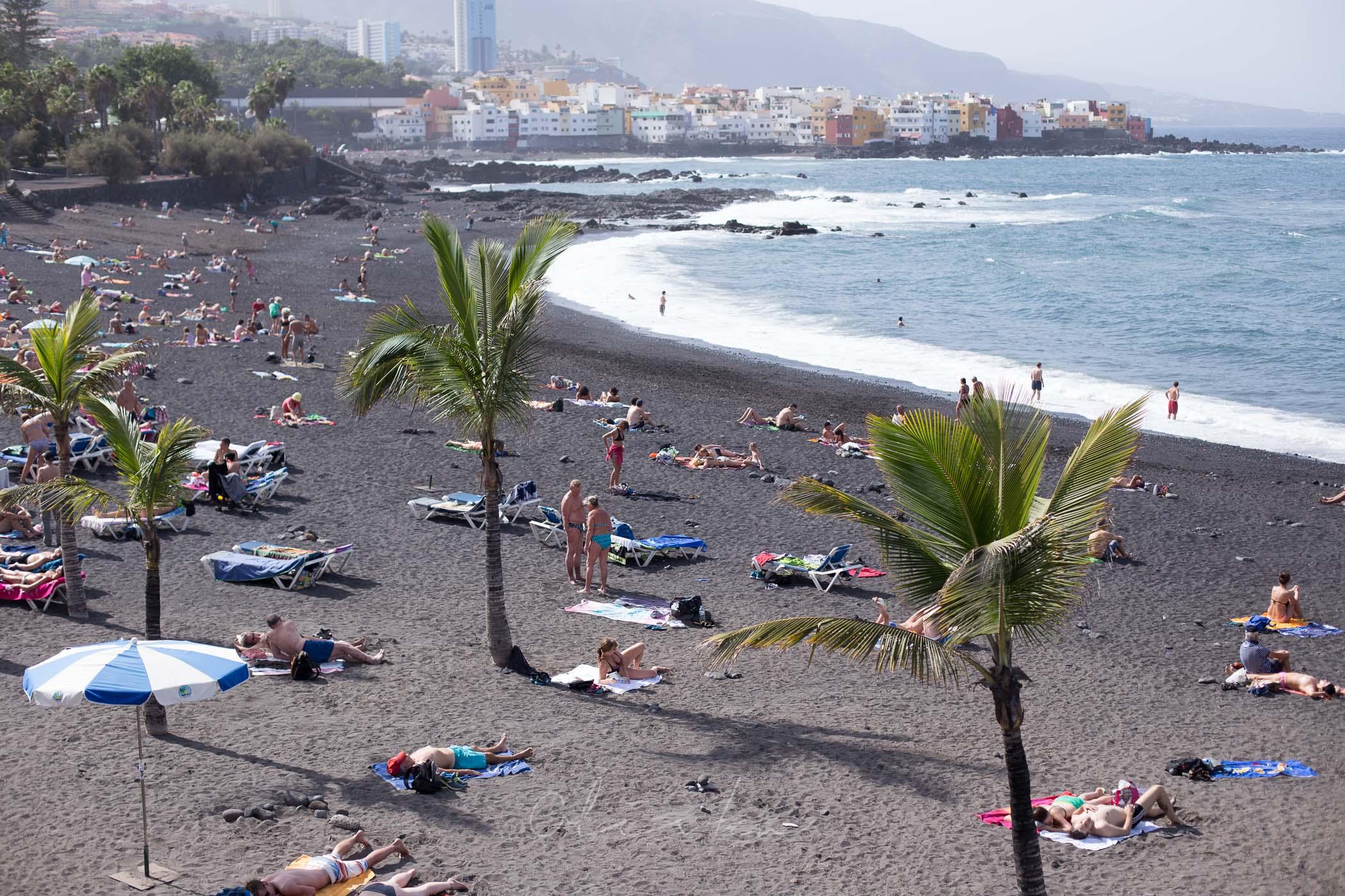 Wybrzeże Teneryfy – Plaża La Arena