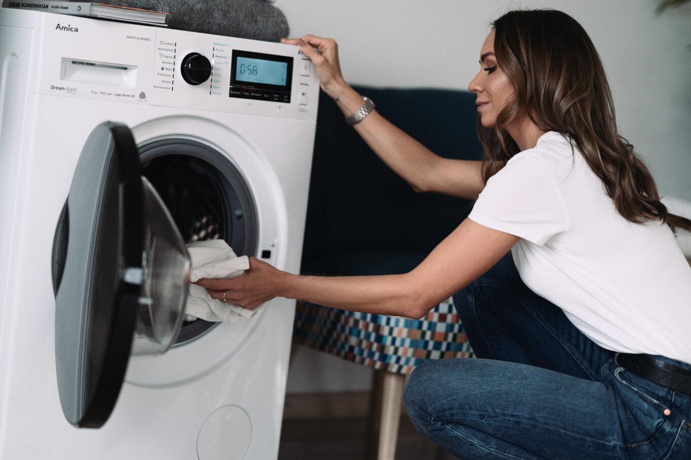 Dream Wash umożliwia dodawanie ubrań w trakcie prania