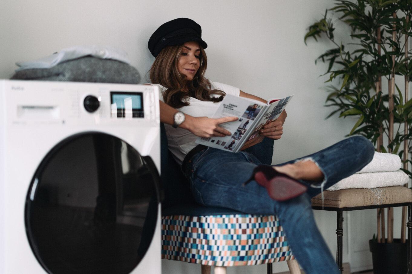 Z pralką Amica Dream Wash odświeżysz potrzebne ubrania w 15 minut!
