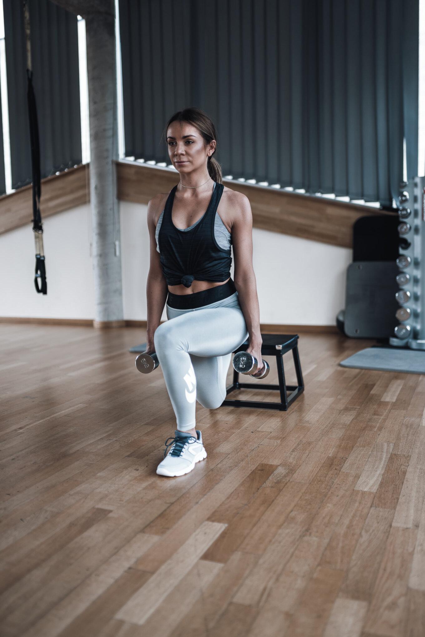 Ćwiczenia na cellulit na udach