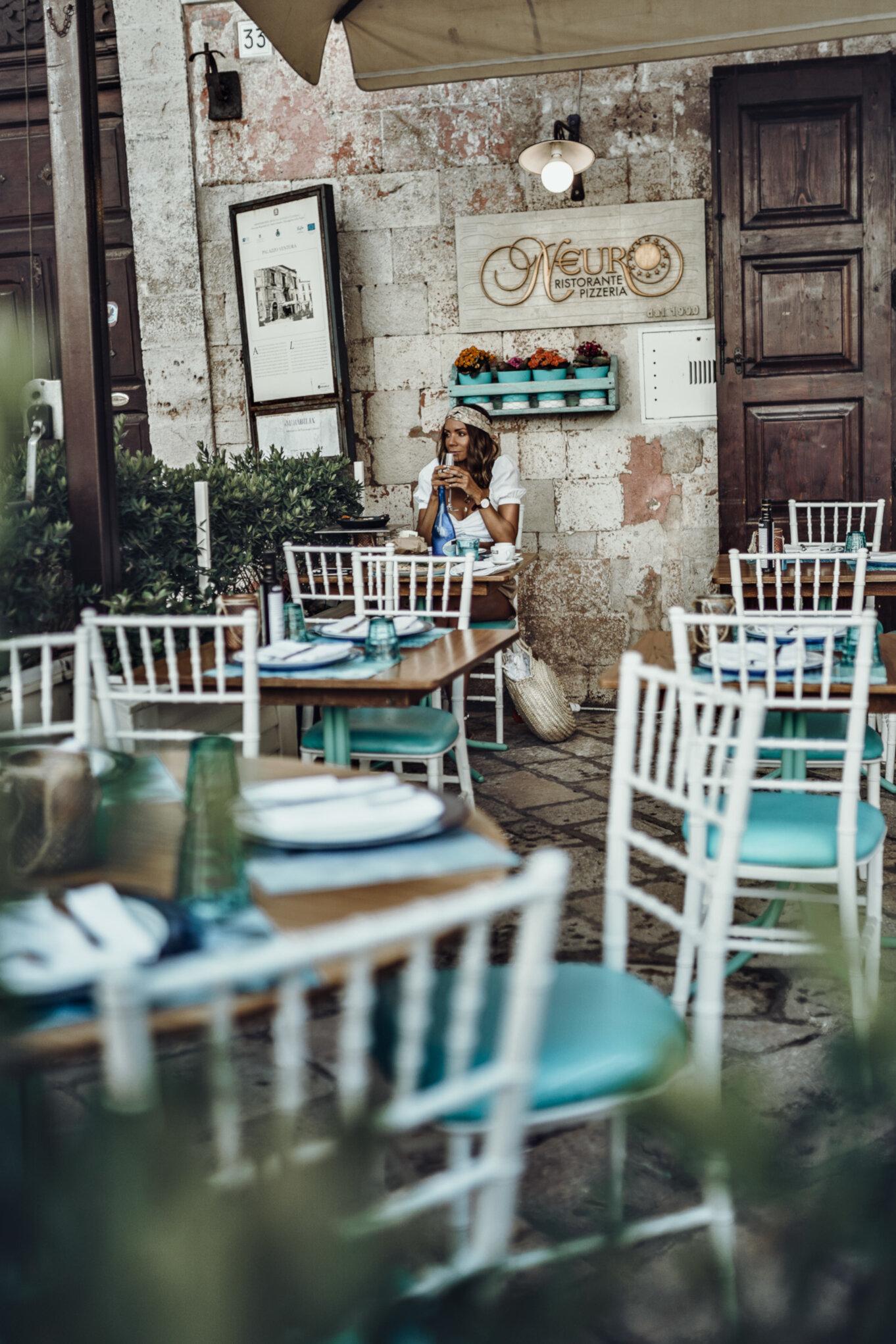 Restauracja w Polignano a Mare