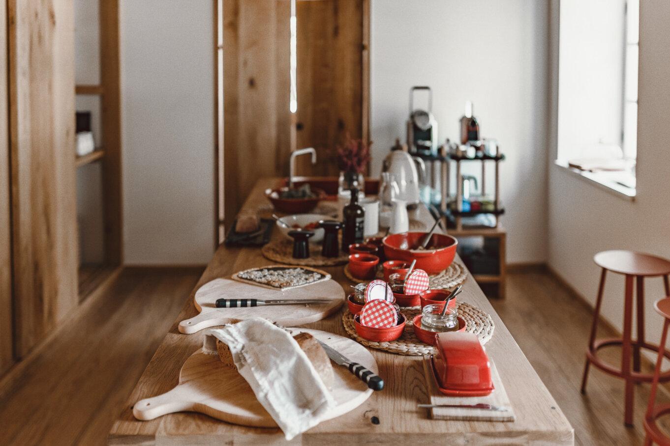 Wnętrze domu: kuchnia