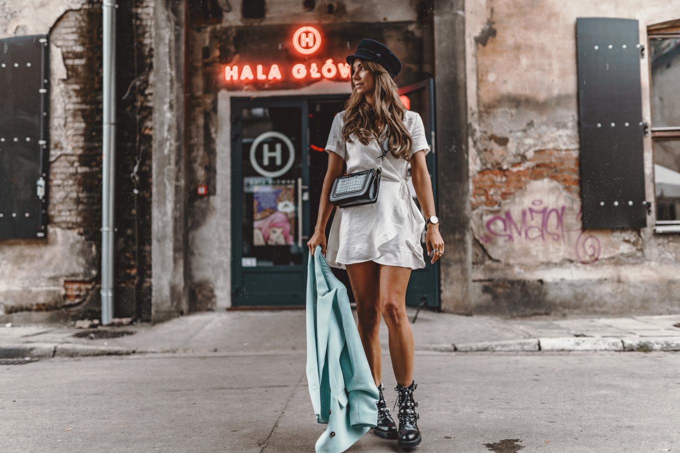 Look na jesień: sukienka z żakietem
