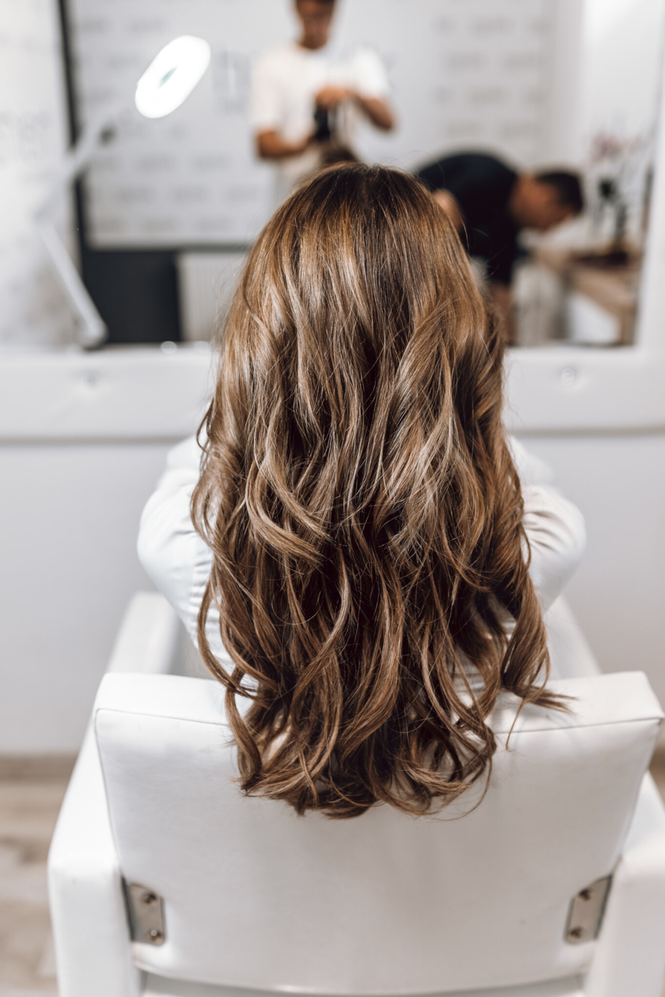 Zagęszczanie włosów metodą kanapkową