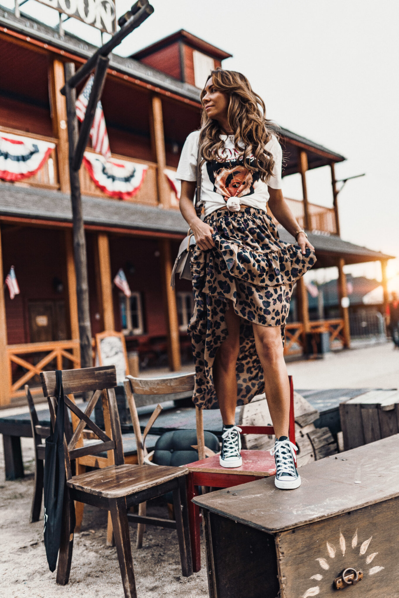 Ubrania w panterkę – Moda na jesień 2018