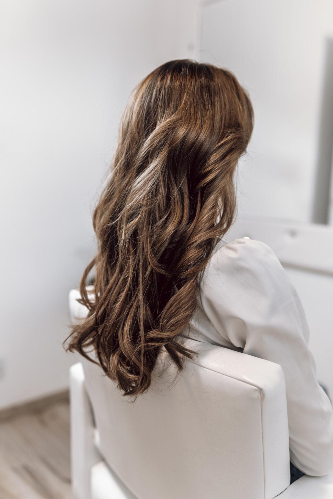 Naturalne doczepiane włosy typu Remy