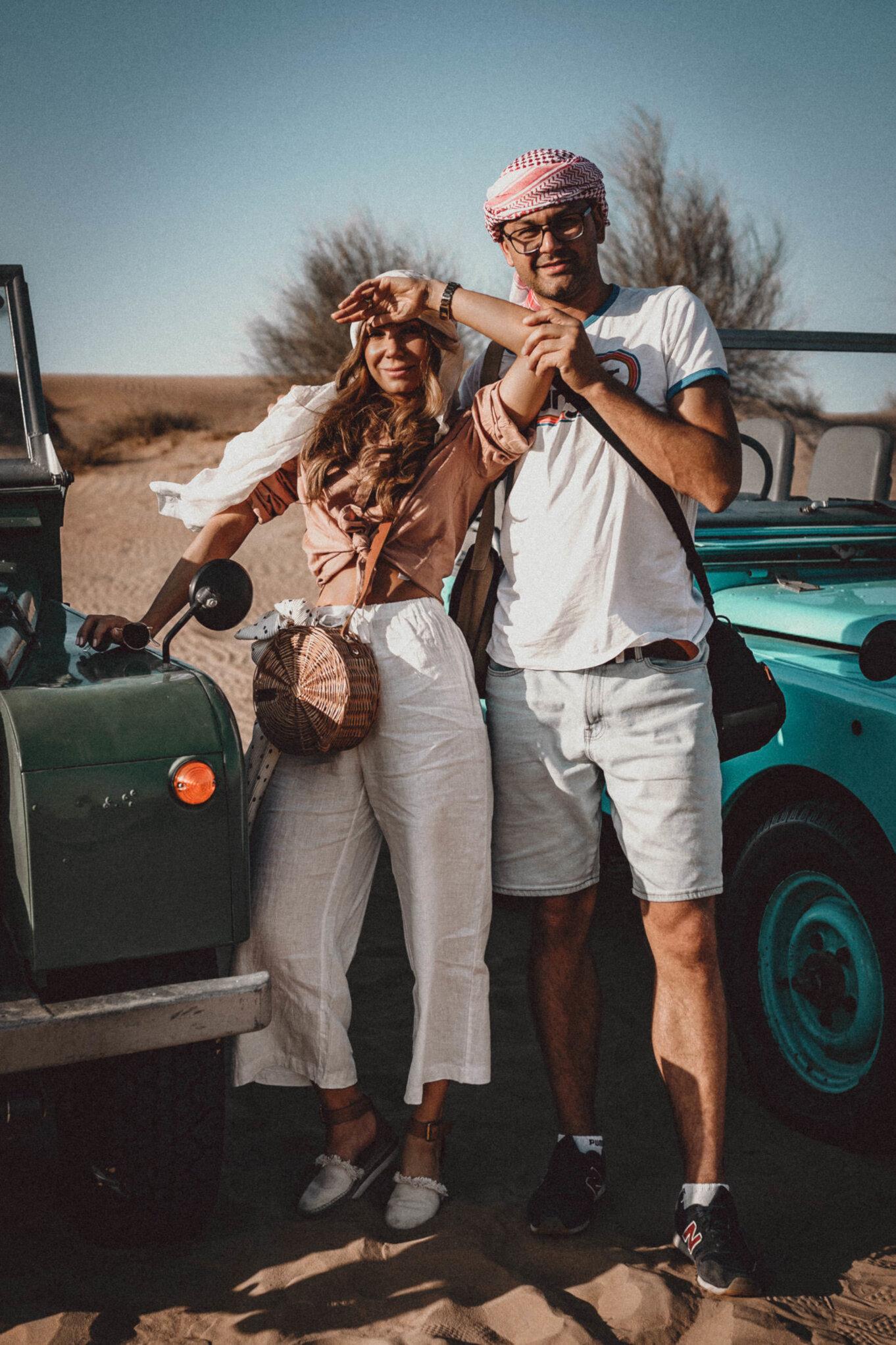 Wyjazd na safari w Dubaju