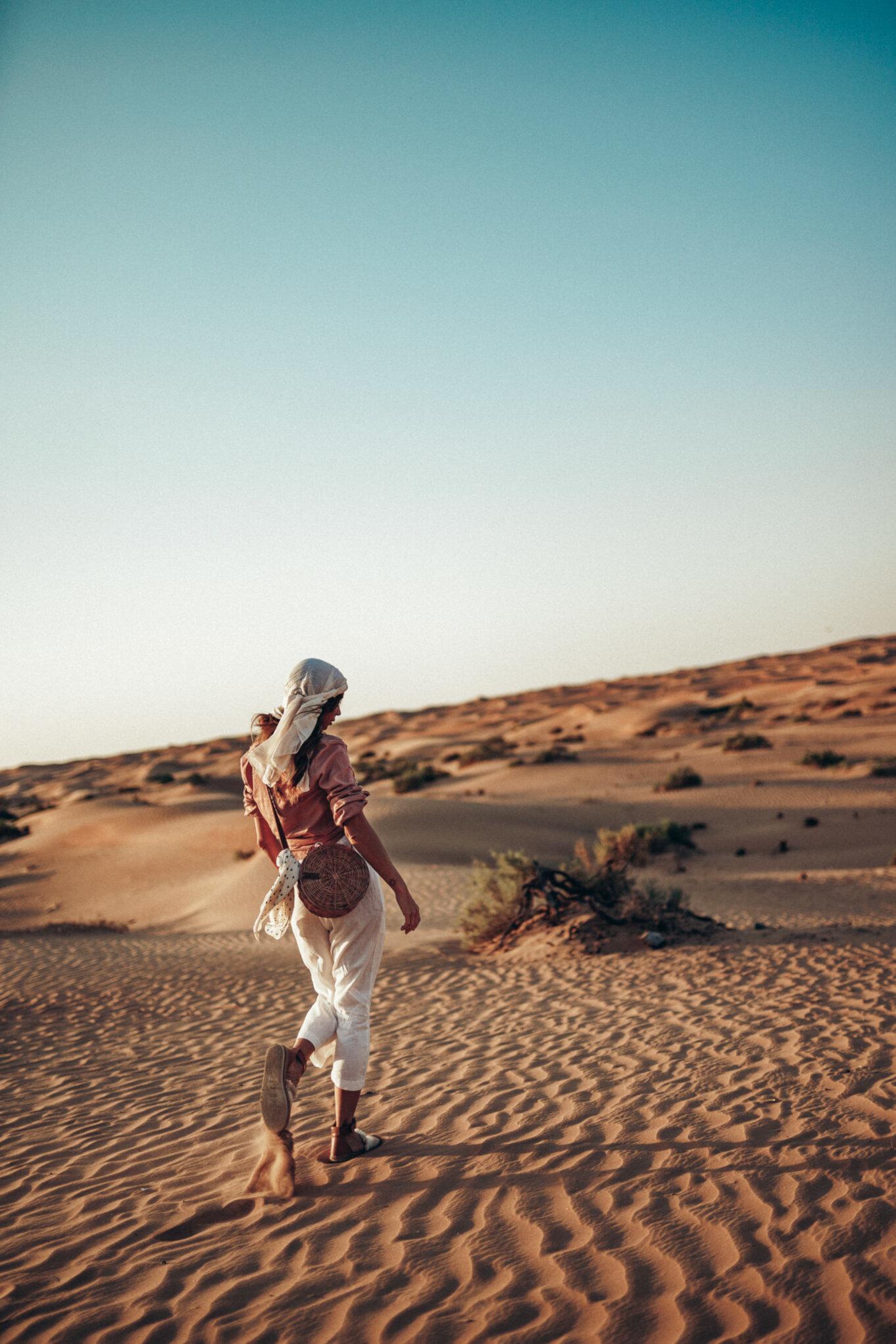 Podczas pobytu w Dubaju postanowiliśmy zobaczyć również pustynię