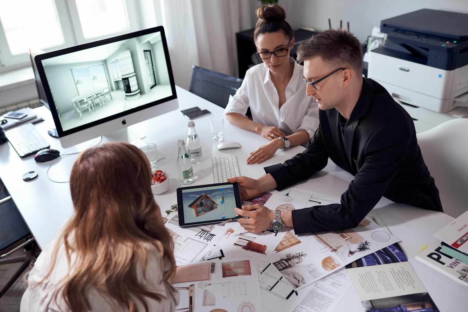 Prezentacja projektu funkcjonalnego, czyli jak urządzić dom