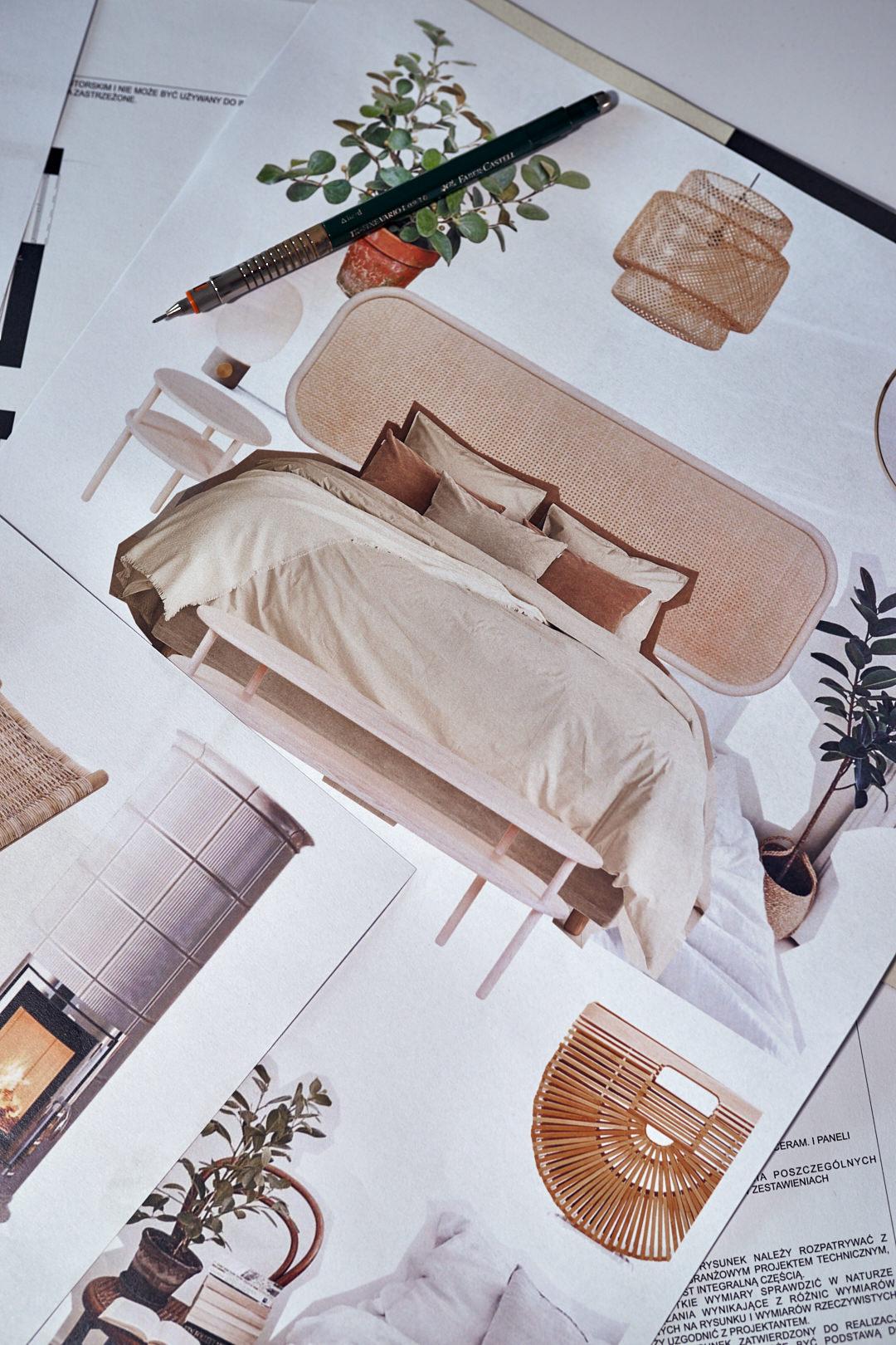 Sypialnia w stylu boho i tulum