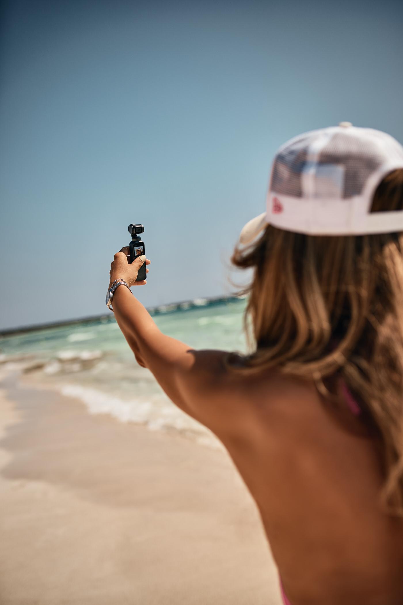 Tryb Selfie, śledzenie twarzy, osmo pocket