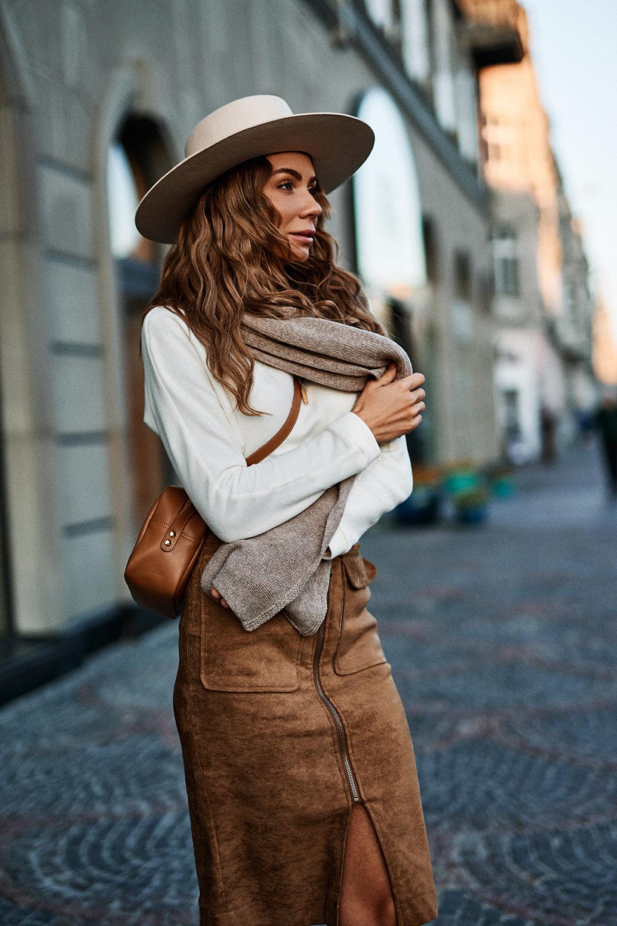 Style Tip: Midi w jesiennej stylizacji