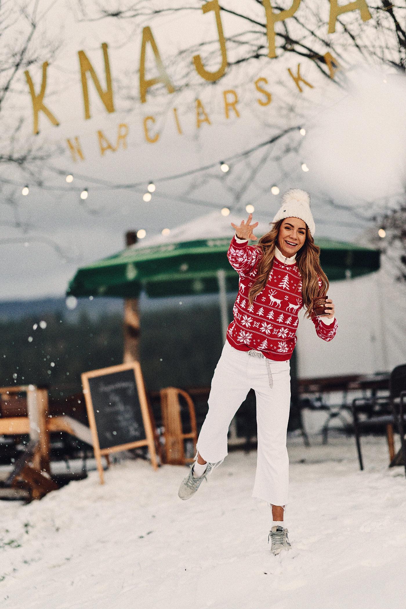 Świąteczny sweter, sweter Mosquito, Istebna